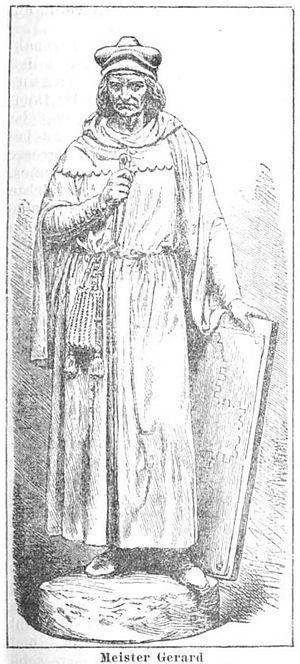 Master Gerhard - Meister Gerhard, Statue