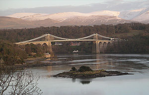 Thomas Telford - Menai Suspension Bridge