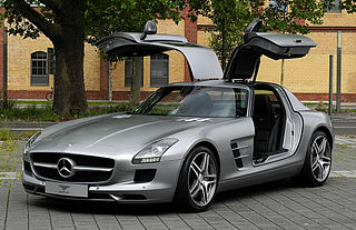 Mercedes-Benz SLS AMG Car model