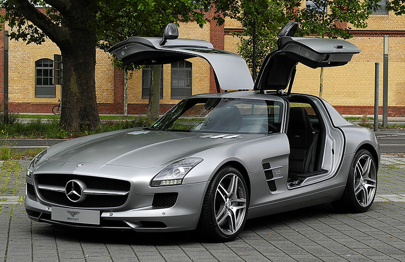 Gullwing Doors Don 39 T Look Mercedes Copies As Lambo Doors