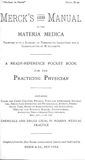 <i>Merck Manual of Diagnosis and Therapy</i>