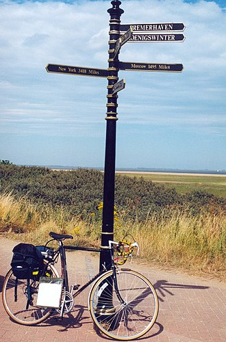 Cleethorpes - Greenwich meridian marker