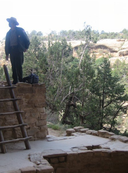 Mesa Verde park ranger