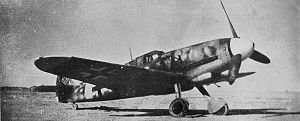 Erich Hartmann - Hartmann flew a Messerschmitt Bf 109 fighter.