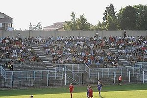 Izola - the Izola City Stadium