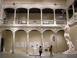 Spanish confiscation - The Renaissance courtyard of the Castle of Vélez-Blanco (c. 16th century), which was sold to the United States during the liberal confiscation in 1903 and is now in the Metropolitan Museum of Art in New York.