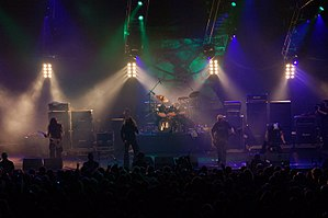 Paradise Lost beim Metalmania Festival 2007 in Katowicz, Polen. Quelle: de.wikipedia.org
