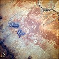 Meteor Crater from Space Shuttle, June 1991.jpg