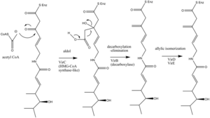 Streptogramin A - Image: Methylation VM1