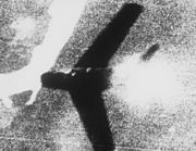MiG-15 shot down