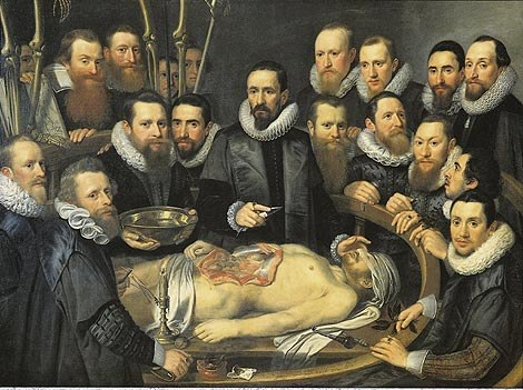 Michiel Jansz van Mierevelt - Anatomy lesson of Dr. Willem van der Meer