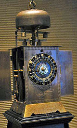 A Japanese-made clockwatch of the 18th century, or Wadokei.