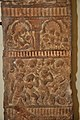 Middle Part - Upright Pillar Showing Architectural Motifs and Other Scenes - Circa 1st Century CE - ACCN 00-I-11 - Government Museum - Mathura 2013-02-24 6080.JPG