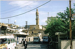 Mor Barsawmo Syriac Orthodox Church. Although now a minority of less than 10% of the population, Christian churches under long term protection of Turks now dominate the skyline of Midyat.