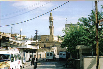 Midyat - Mor Barsawmo Syriac Orthodox Church. Although now a minority of less than 10% of the population, Assyrians were once the majority until the Assyrian Genocide.
