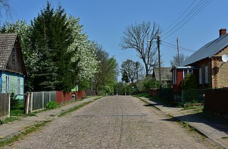 Mieleszki Village in Podlaskie Voivodeship, Poland