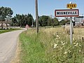 Mignéville (M-et-M) city limit sign.jpg