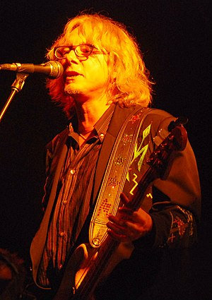 Mike Mills - Mills performing with R.E.M. in 2008