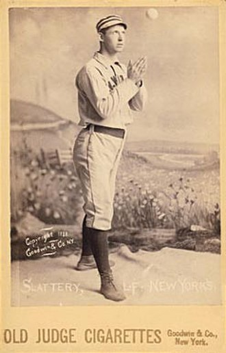 Mike Slattery (baseball) - Image: Mike Slattery 1888