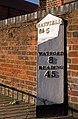 Milepost, Hatfield Road (geograph 2705980).jpg