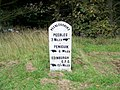 Milestone near Waterheads - geograph.org.uk - 1557602.jpg