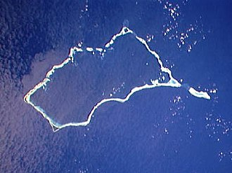 Mili Atoll - NASA picture of Mili Atoll
