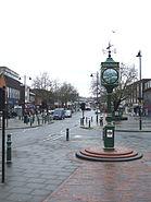 Millennium clock rayleigh