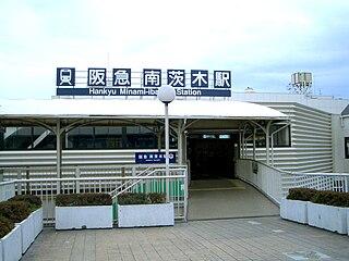 Minami-Ibaraki Station Railway station in Ibaraki, Osaka Prefecture, Japan