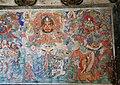 Ming Dynasty mural of Hayagriva (馬頭觀音; 马头观音; Matou) and Acala (不動明王;不动明王; Budong), two of Ten Wisdom Kings (十大明王), in Dayun Temple (浑源大云寺), Hunyuan, Datong, Shanxi, China.jpg