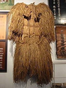 Mino (straw cape) - Wikipedia