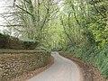Minor road, to Higher Greenham - geograph.org.uk - 1267405.jpg