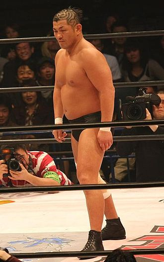 Minoru Suzuki - Suzuki in April 2008