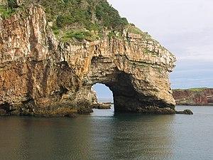 Miquelon-Langlade - Rocky shore of Miquelon