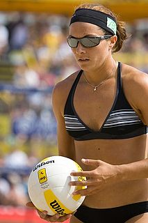 Misty May-Treanor American beach volleyball player