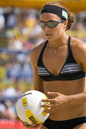 Irvine Valley College - Misty May-Treanor, coaching faculty, multiple gold-medal-winning Olympic beach volleyball player