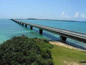 Miyakojima, Okinawa - Image: Miyako ikema bridge