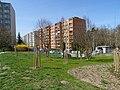 Modřany, Botevova, od dopravního hřiště.jpg