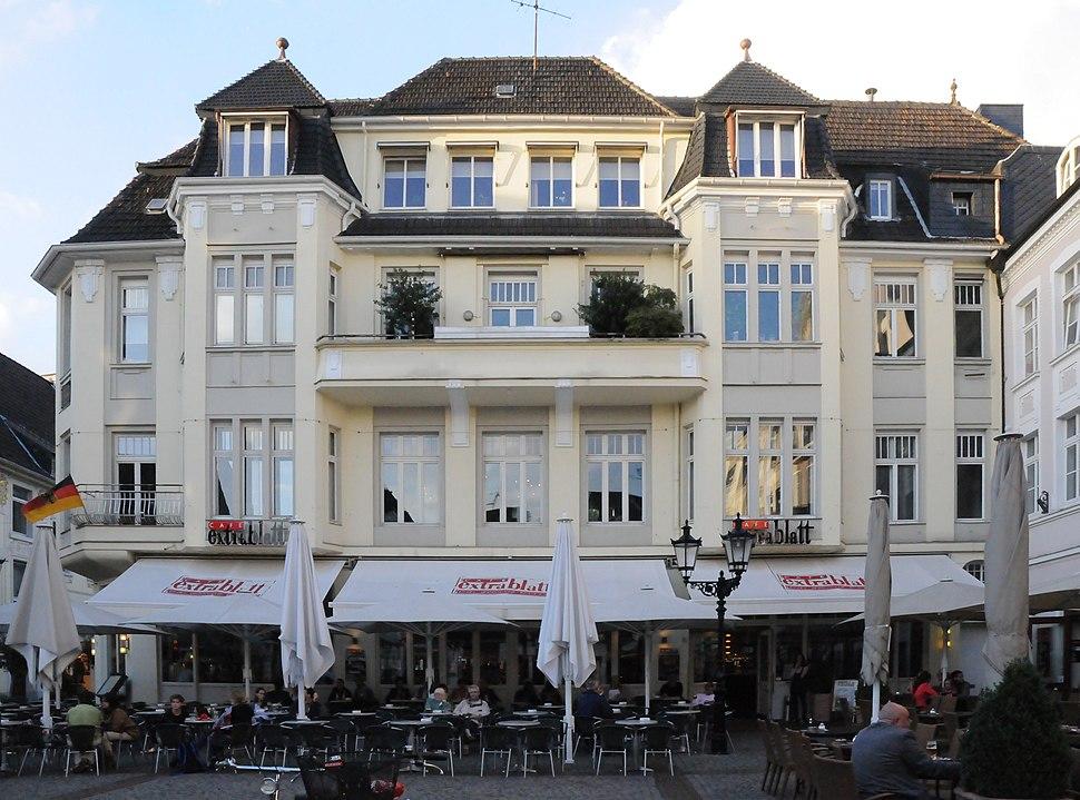 Moers - Altmarkt 1, Denkmal Nr. 76