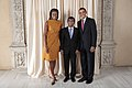 Mohamed Nasheed with Obamas.jpg