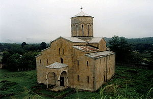 Ochamchire Municipality - Mokvi Cathedral in the village of Mokvi