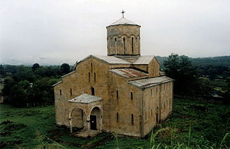 Ochamchira District - Mokvi Cathedral in the village of Mokvi