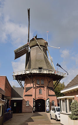Molen Grenszicht, september 2014