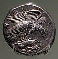 Moneta di agrigento, 425-400 ac ca, inv. 167, aquila e lepre.jpg