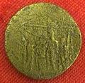 Monetiere di fi, moneta romana imperiale di caio che ricorda fine lavori tempio divo augusto.JPG
