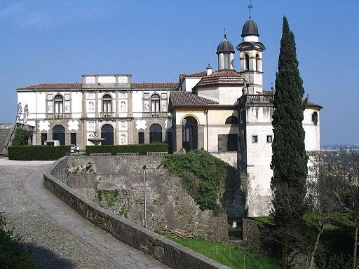 Monselice - Villa Duodo - Chiesa di San Giorgio