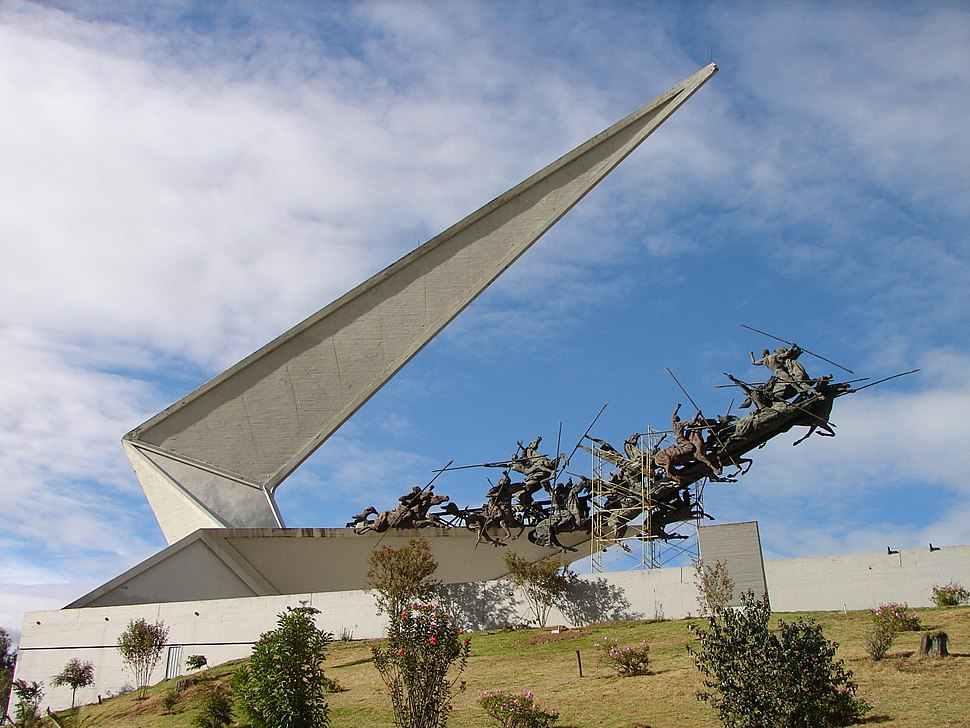 Monumento pantano de vargas, completo. 2006