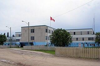 Weeneebayko Area Health Authority Hospital in Ontario, Canada