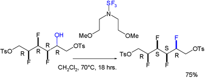 Synthesis of an All-syn Four Vicinal Fluorine Motif