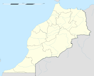 Oujda is located in Morocco