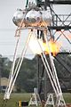 Morpheus alpha lander during ignition tests in 2011.jpg